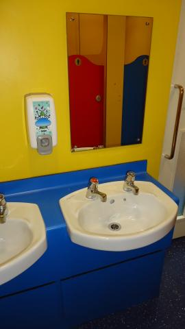 Refurbishment of school WC areas