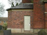 New external door into new extension