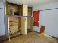 This shows the wardrobes which were remove to allow formation of the new boiler cupboard.